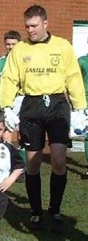Dundela FC - Goalkeeper - Allen Huxley - Born: 20th April 1974